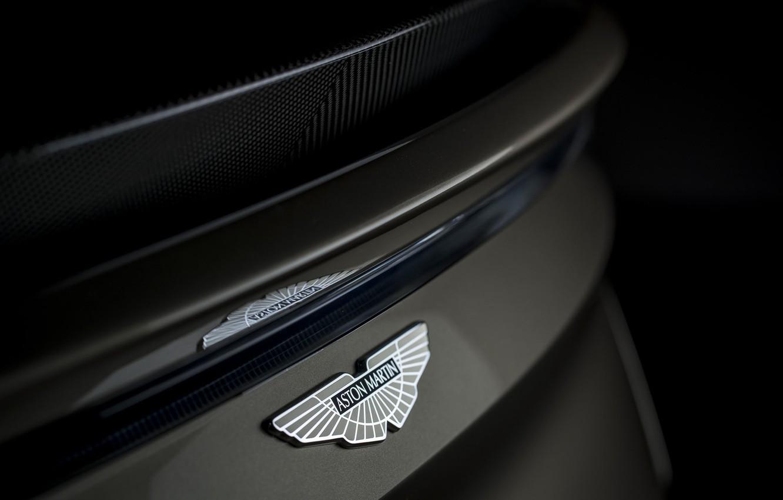 Photo wallpaper Aston Martin, DBS, emblem, Superleggera, 2019, OHMSS, OHMSS Edition