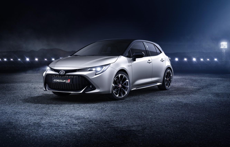 Photo wallpaper Toyota, hatchback, Corolla, 2019, GR Sport