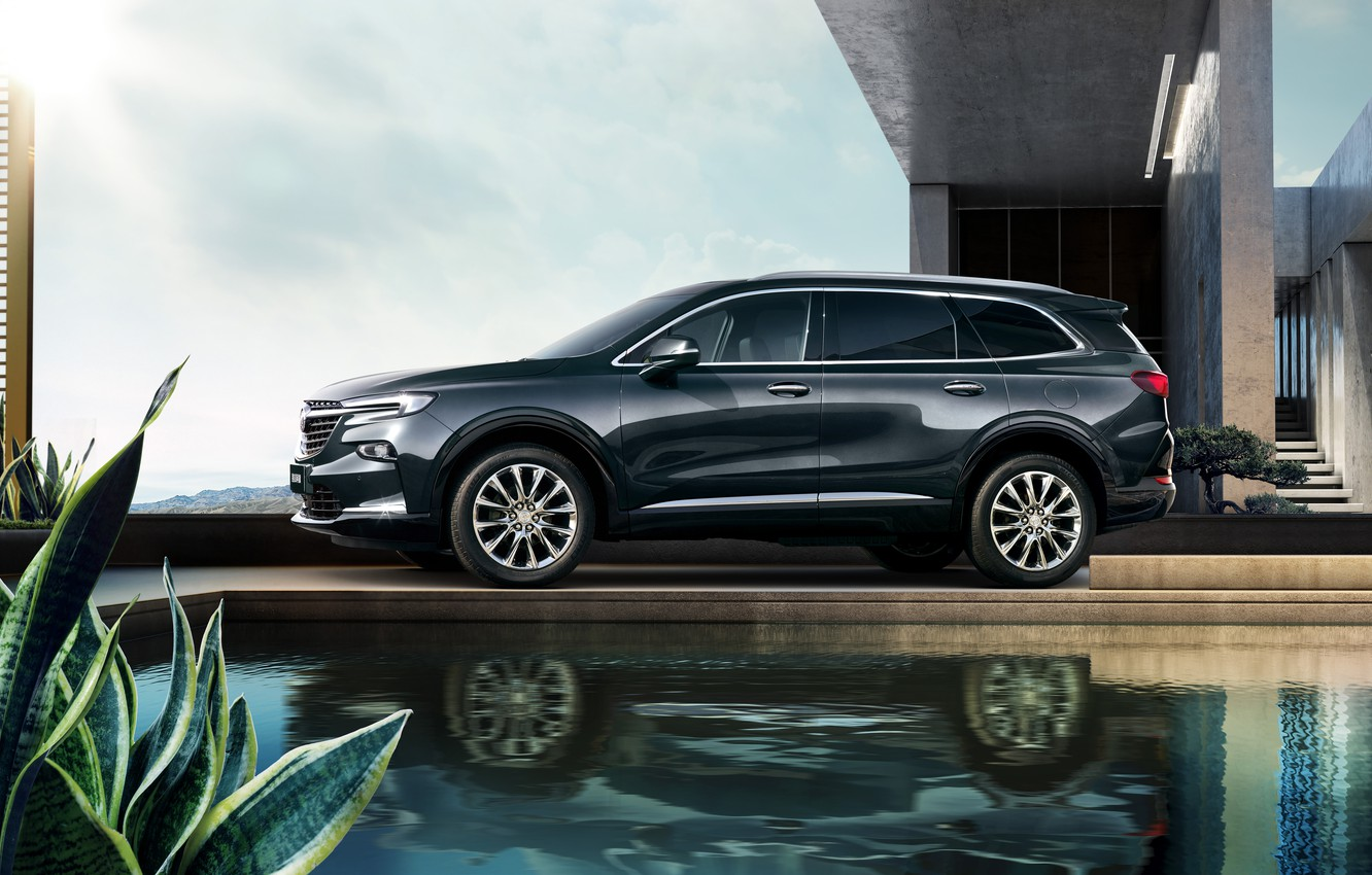 Photo wallpaper Buick, Enclave, 2020, Buick Enclave China