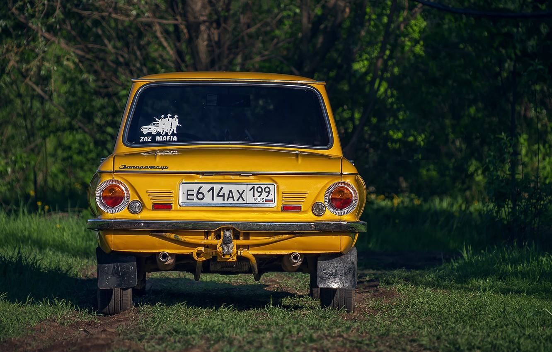 Photo wallpaper ZAZ, Zaporozhets, zaz, ZAZ-968M