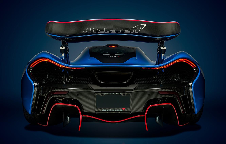 Photo wallpaper McLaren, Blue, Hypercar