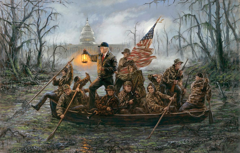 Wallpaper President The White House Capitol Donald Trump