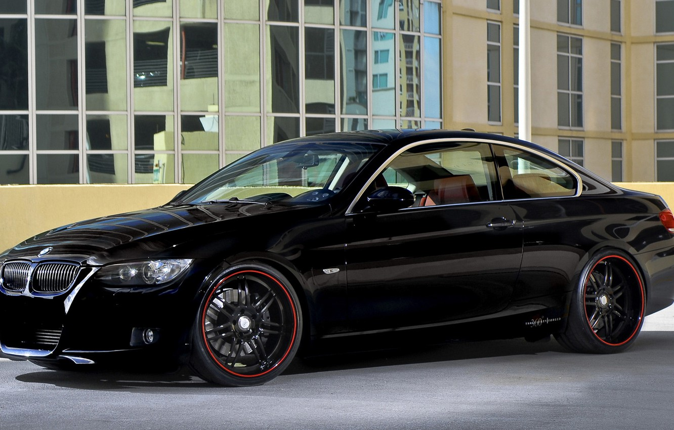 Photo wallpaper Coupe, Bmw, Vehicle
