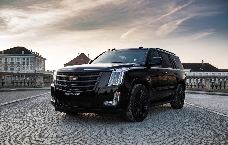 Photo wallpaper Black Edition, Cadillac Escalade, Geiger Cars Cadillac Escalade Black Edition, Geiger Cars