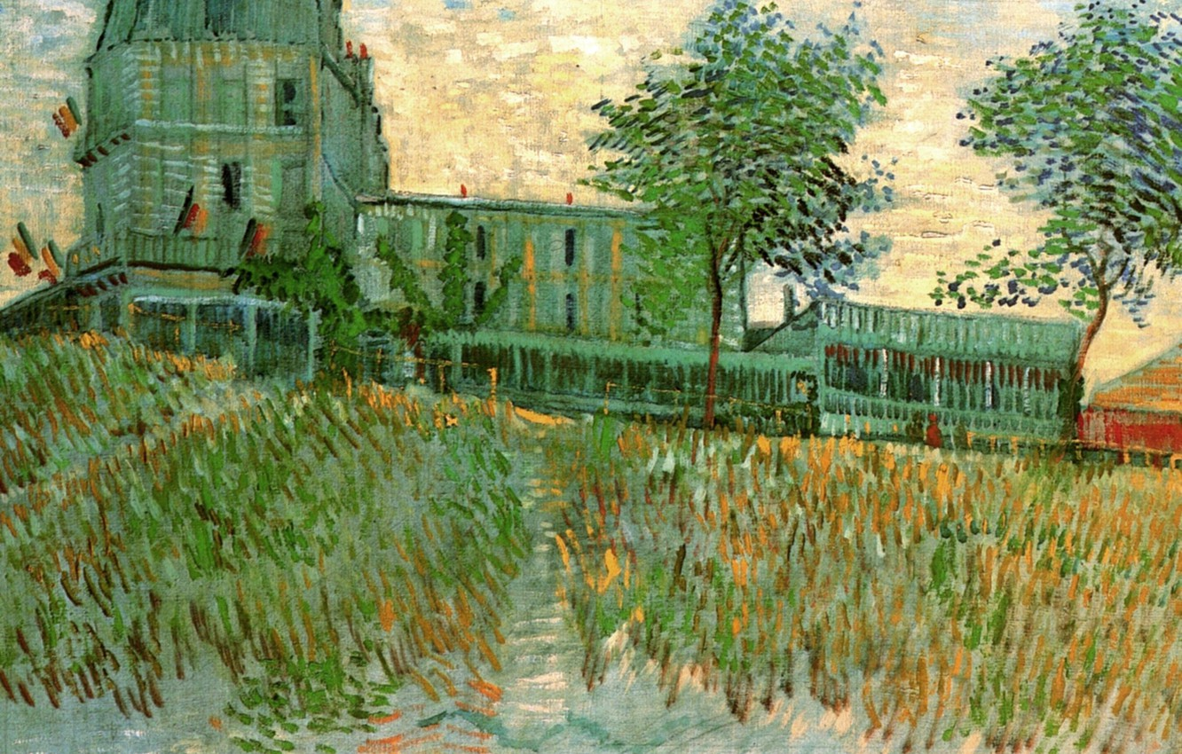 Photo wallpaper Vincent van Gogh, of the Sirene at Asnieres, The Restaurant