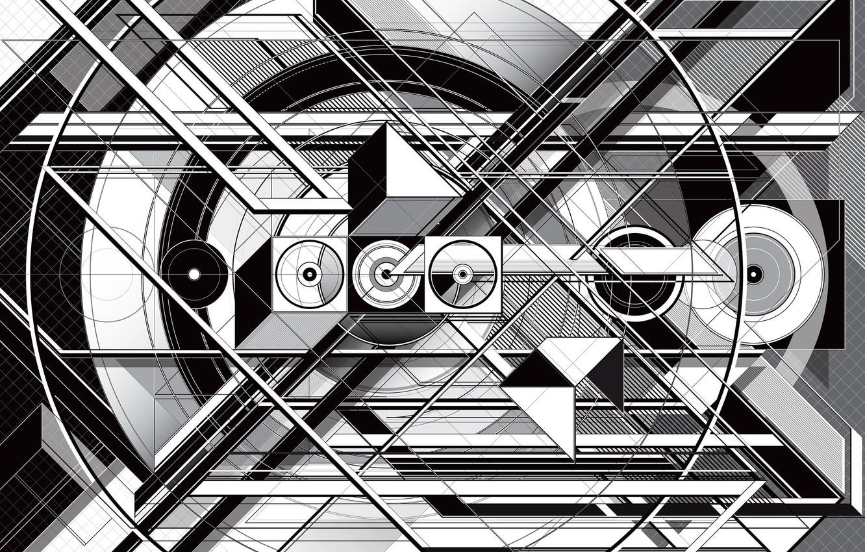 Photo wallpaper background, form, figure