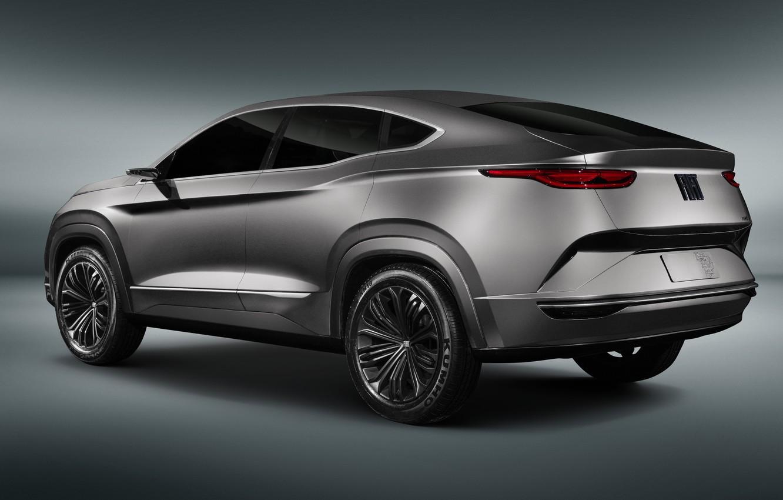 Photo wallpaper rear view, Fastback, 2018, crossover, Fiat, SUV