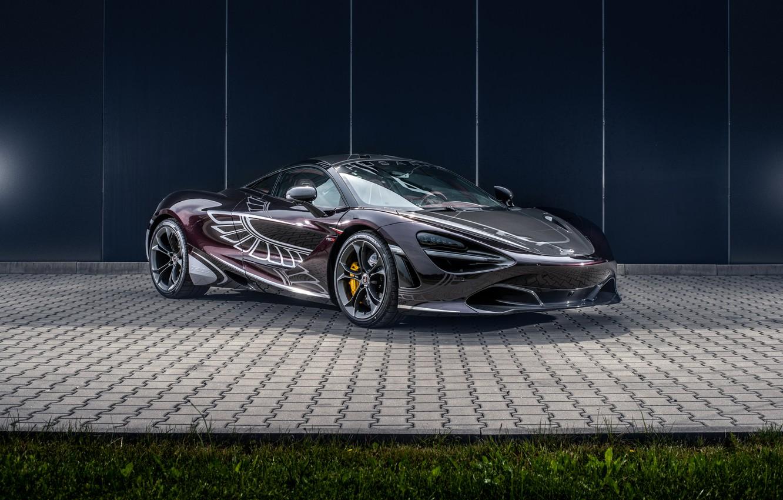 Photo wallpaper McLaren, supercar, 2018, Manhart, 720S, Carlex Design