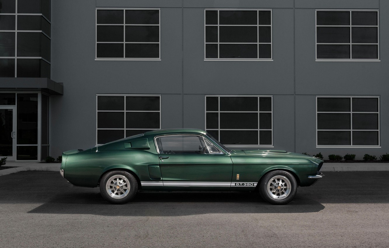 Photo wallpaper Ford Mustang, Classic, 1967, Muscle Car, Shelby GT350
