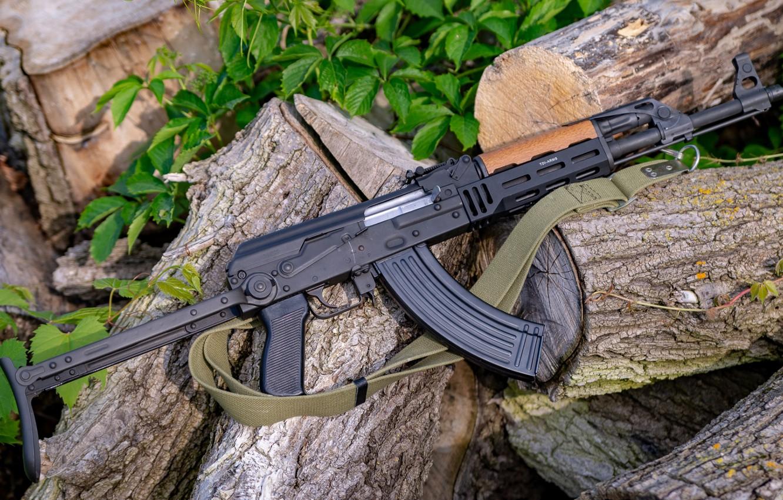 Photo wallpaper weapons, gun, weapon, custom, Kalashnikov, AK 47, assault rifle, assault Rifle, AK 47, Kalashnikov, AKM, …