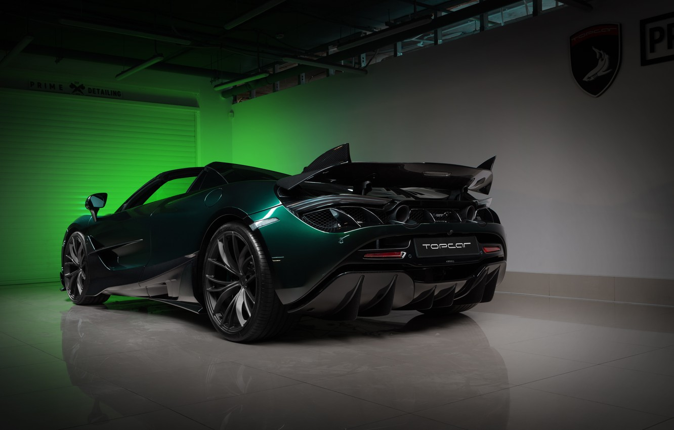 Photo wallpaper McLaren, supercar, Spider, Ball Wed, Fury, 2020, 720S