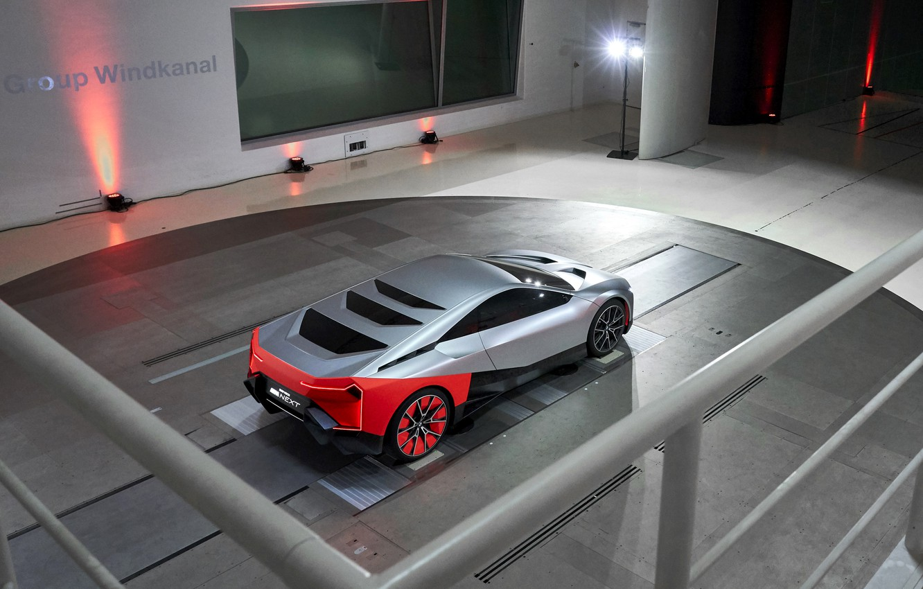 Wallpaper Coupe Bmw Wind Tunnel 2019 Vision M Next Concept