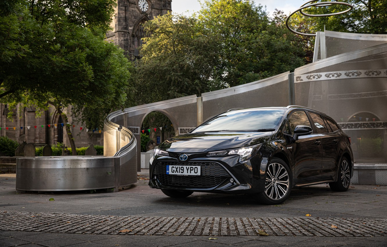 Photo wallpaper Toyota, Hybrid, Sports, Touring, Corolla, 2019
