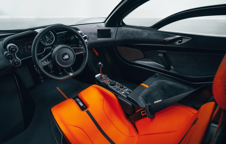 Photo wallpaper coupe, interior, V12, GMA, T.50, Gordon Murray Automotive, Type 50