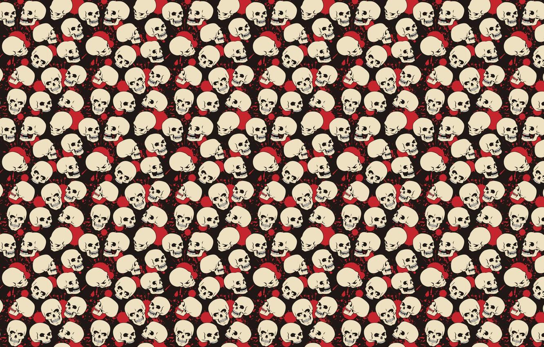 Photo wallpaper white, red, pose, black, blood, paint, skull, spot, red, white, black, poses