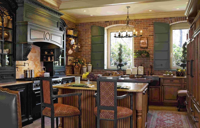 Wallpaper Room Interior Kitchen Luxury French Kitchen Images For Desktop Section Interer Download