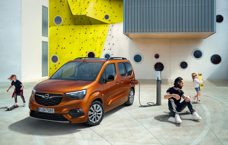 Photo wallpaper Children, Opel, Brown, Male, Metallic, 2021, Combo-e Life, Пассажирских электромобиль, Электрический минивэн, 136 л.с.