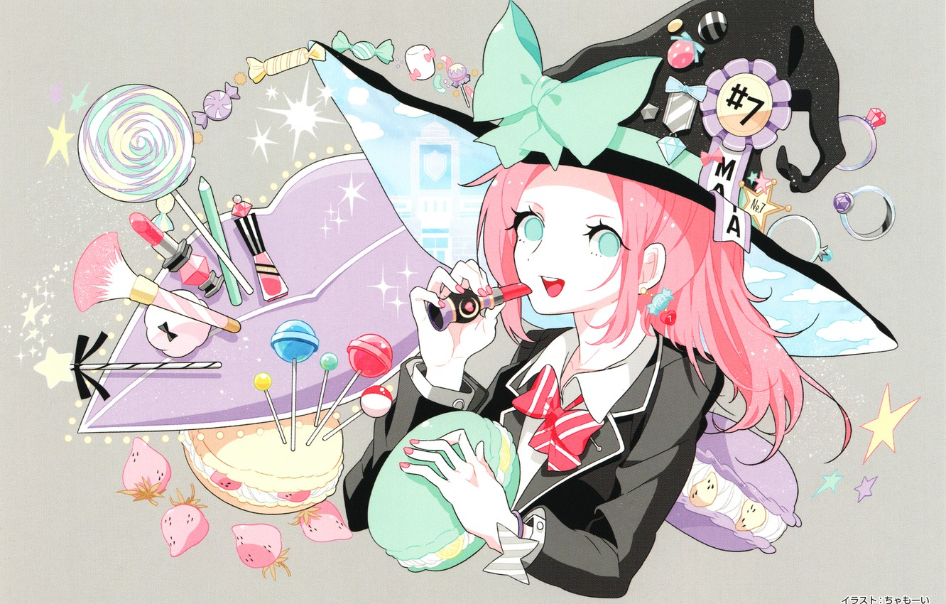 Wallpaper Girl Candy Witch Yamada Kun And The Seven Witches