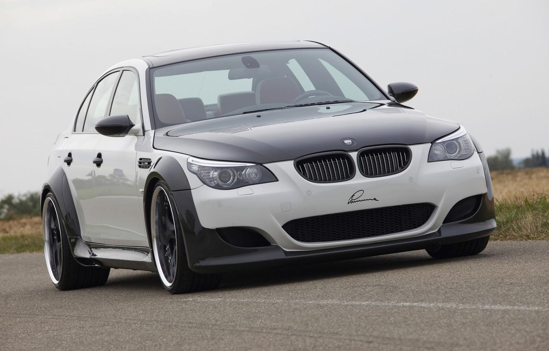 Photo wallpaper BMW, sedan, front, G-Power, 2009, V10, E60, BMW M5, Lumma Design, M5, 730 HP, CLR …