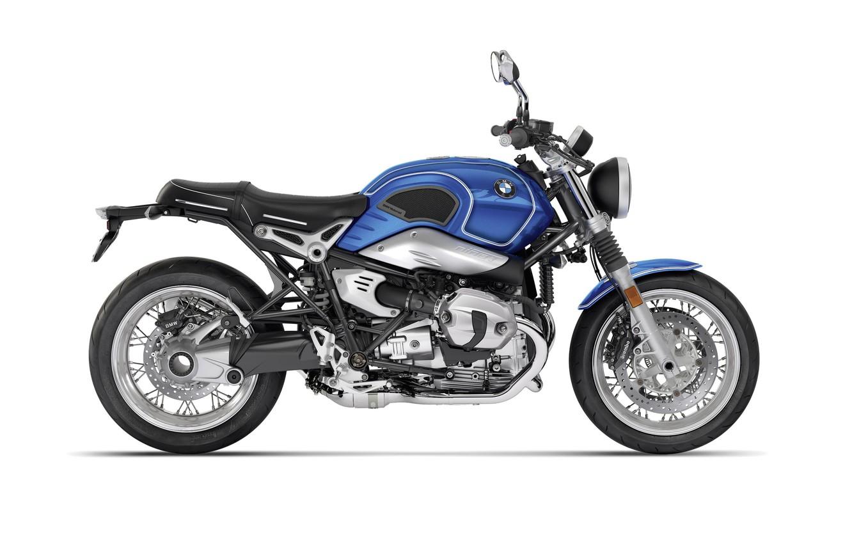 Photo wallpaper Blue, Motorcycle, BMW R nineT