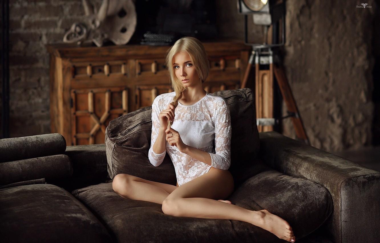 Photo wallpaper girl, pose, blonde, Dmitry Arhar, Katerina Shiryaeva