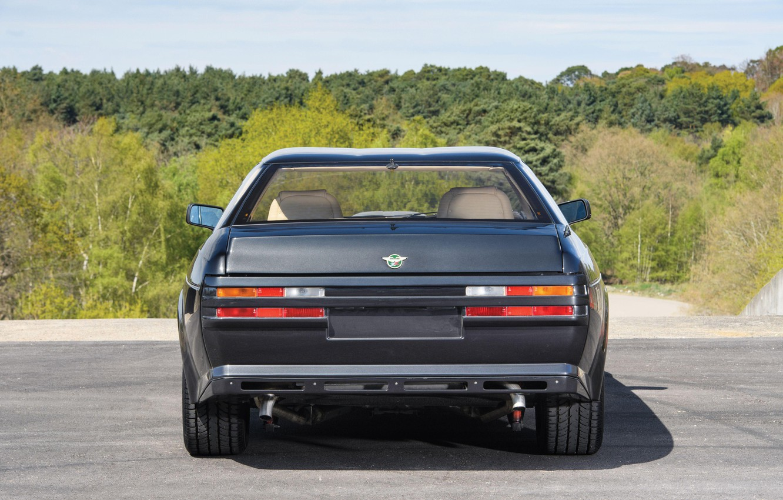Photo wallpaper rear view, Coupe, Aston Martin V8 Vantage Zagato