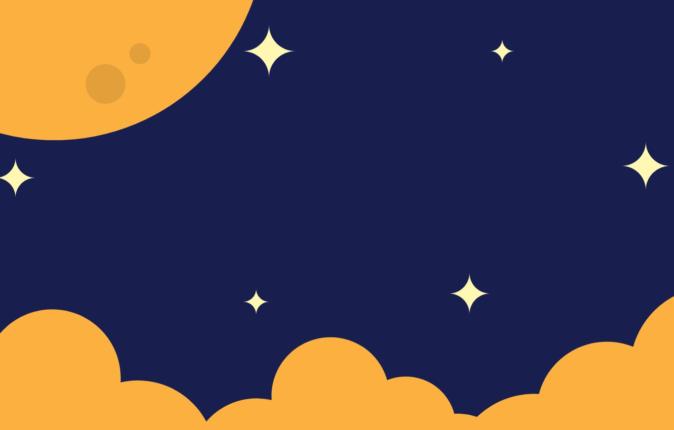 Cute Seamless Pattern Background With Stars And Moon. Children's.. Royalty  Free Cliparts, Vectors, And Stock Illustration. Image 95526666.