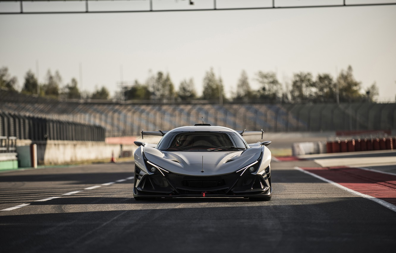 Photo wallpaper Racer, Hypercar, The front, Apollo IE
