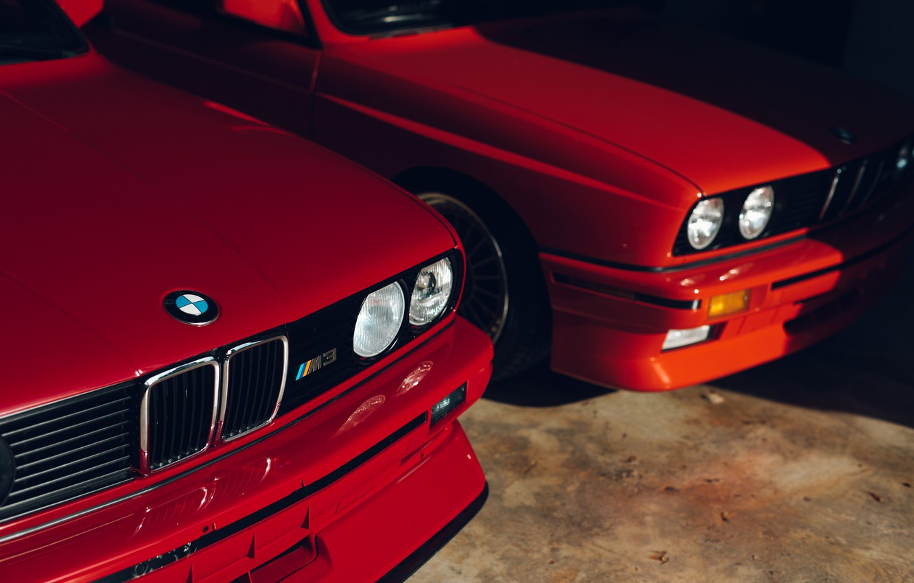 Wallpaper BMW, Classic, E30, RED, Sight images for desktop ...