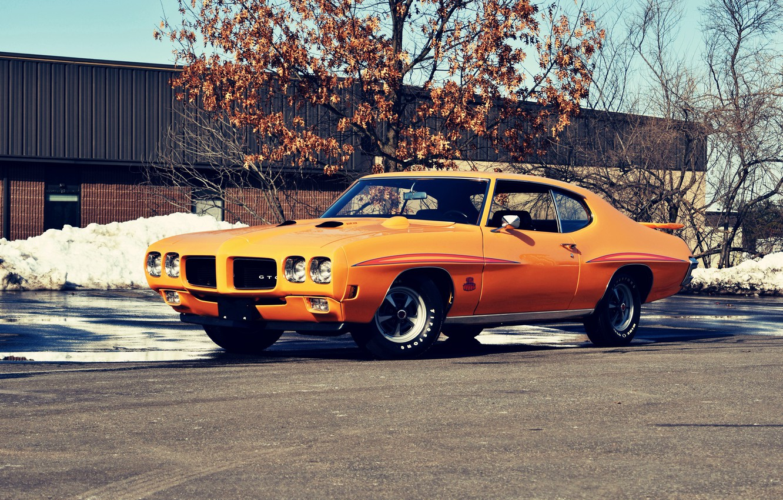 Photo wallpaper Muscle, Car, Coupe, Pontiac, GTO