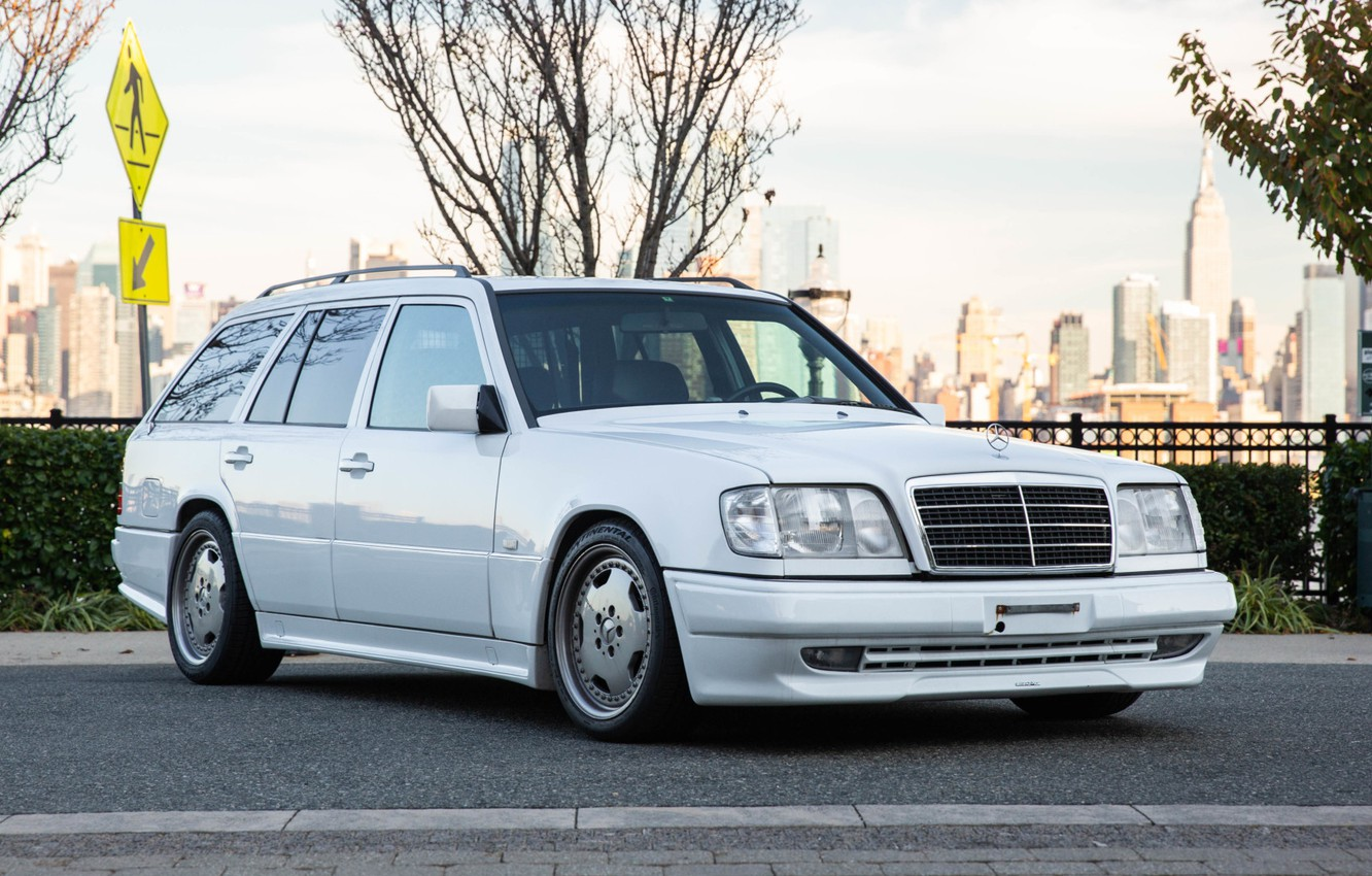 Photo wallpaper Mercedes-Benz, AMG, W124, WAGON, 230TE, S124