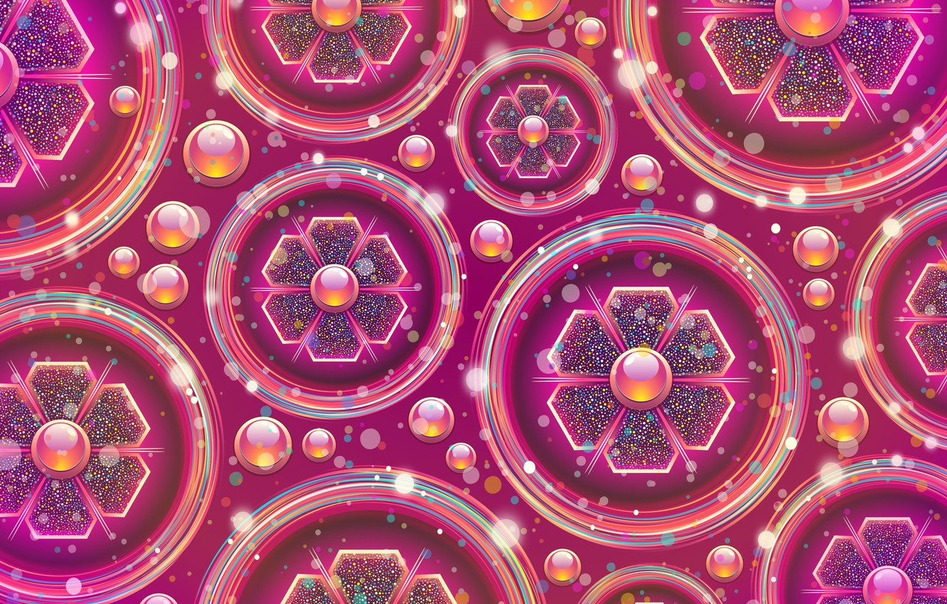 Photo wallpaper abstraction, background, graphics, texture, geometry, background, digital art