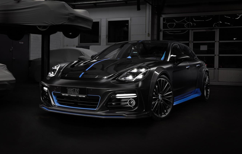 Photo wallpaper Porsche, Panamera, 2018, TechArt, Sport Turismo, Grand GT, Selective