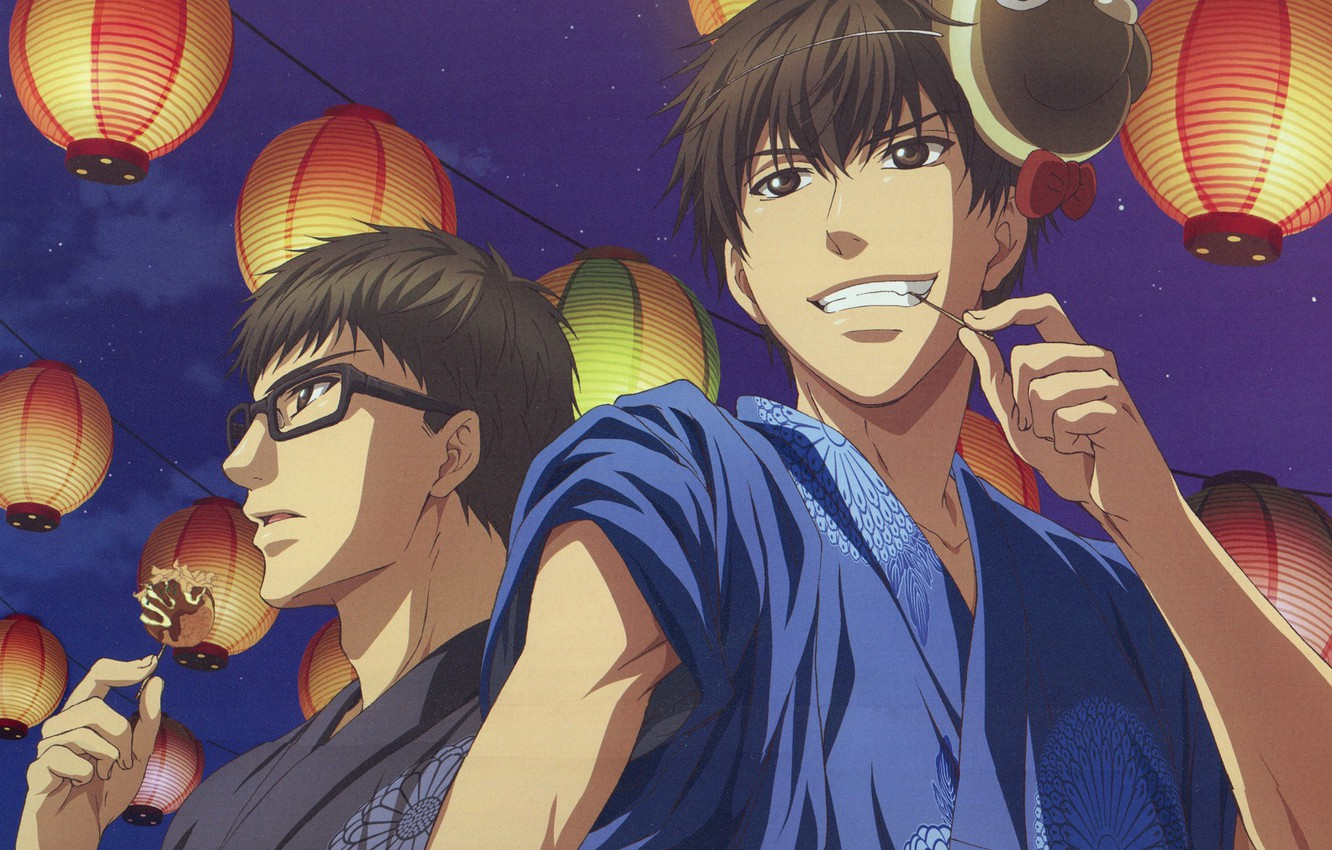 Photo wallpaper lights, brothers, Super Lovers