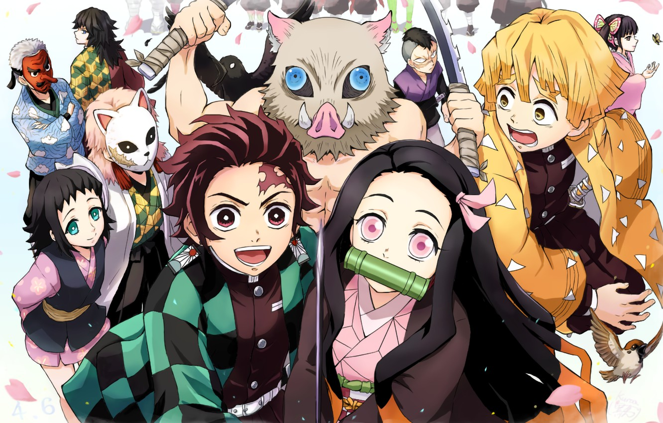 Wallpaper Creatures Characters Demon Slayer Kimetsu No