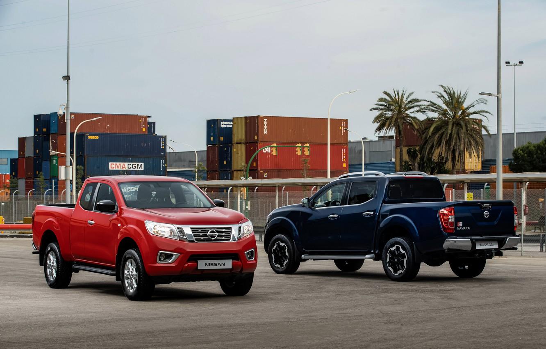 Photo wallpaper Nissan, Double Cab, Navara, pickups, 2019, King Cab
