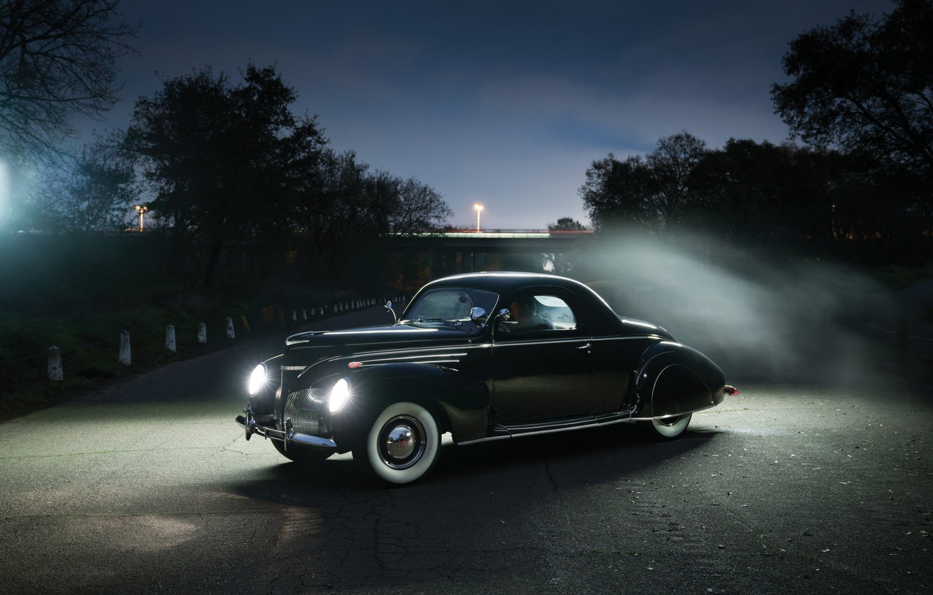 Photo wallpaper Lincoln, Coupe, Vintage, 1939, Zephyr