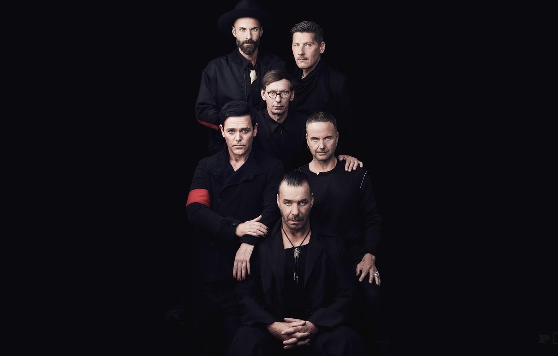 Photo wallpaper Rammstein, Band, Till Lindemann, Till Lindemann, Paul Landers, Richard Z. Kruspe, Richard Kruspe, Paul Landers, …