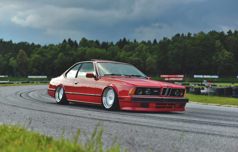Photo wallpaper BMW, COUPE, E24, 635CSI
