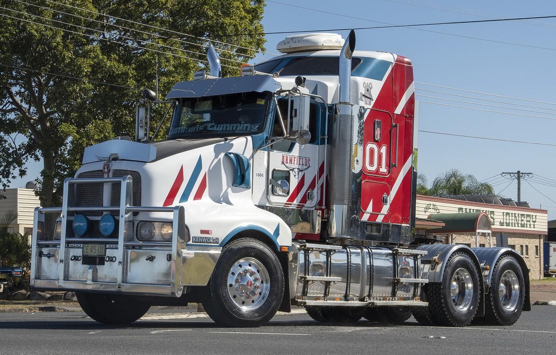 Photo wallpaper truck, Kenworth, T604