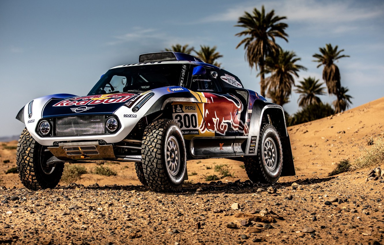 Photo wallpaper Sand, Auto, Mini, Sport, Machine, Car, 300, Rally, Dakar, Dakar, Rally, Buggy, Buggy, X-Raid Team, …