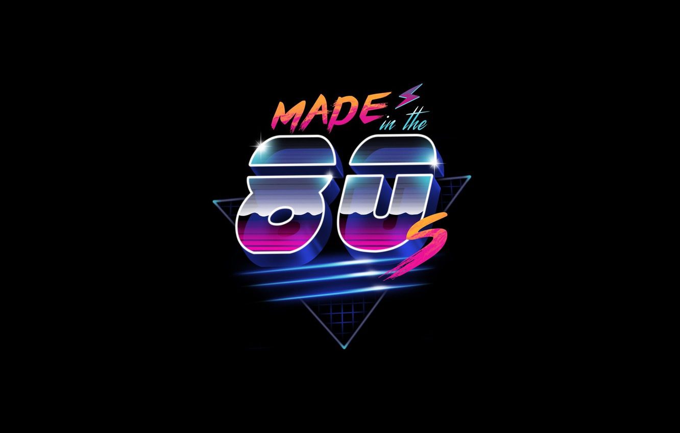 Wallpaper Minimalism Background 80s Neon 80s Synth