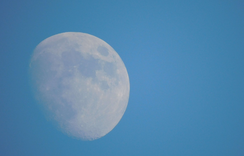 Photo wallpaper planet, The moon, Earth satellite
