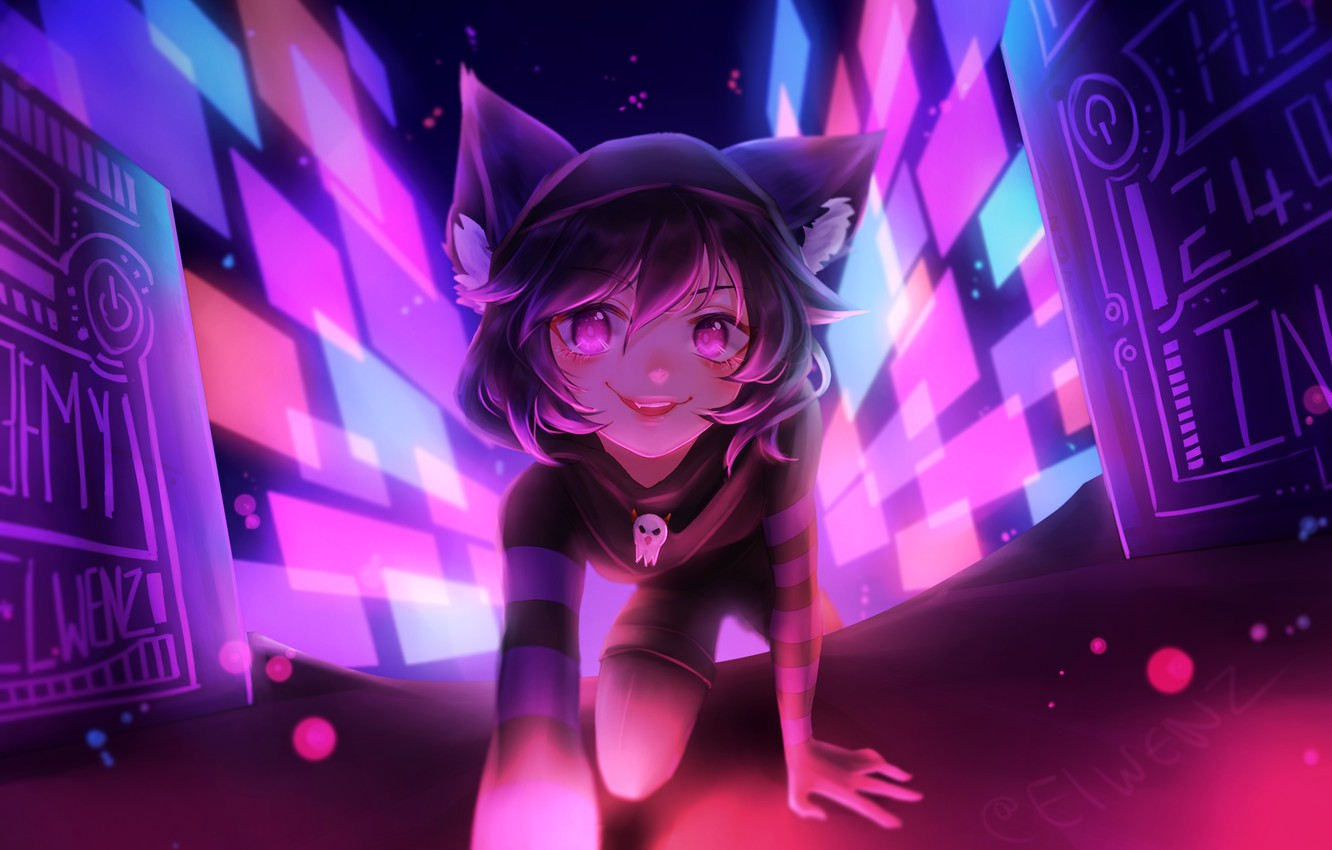 Wallpaper cat, girl, the game, VRChat images for desktop, section
