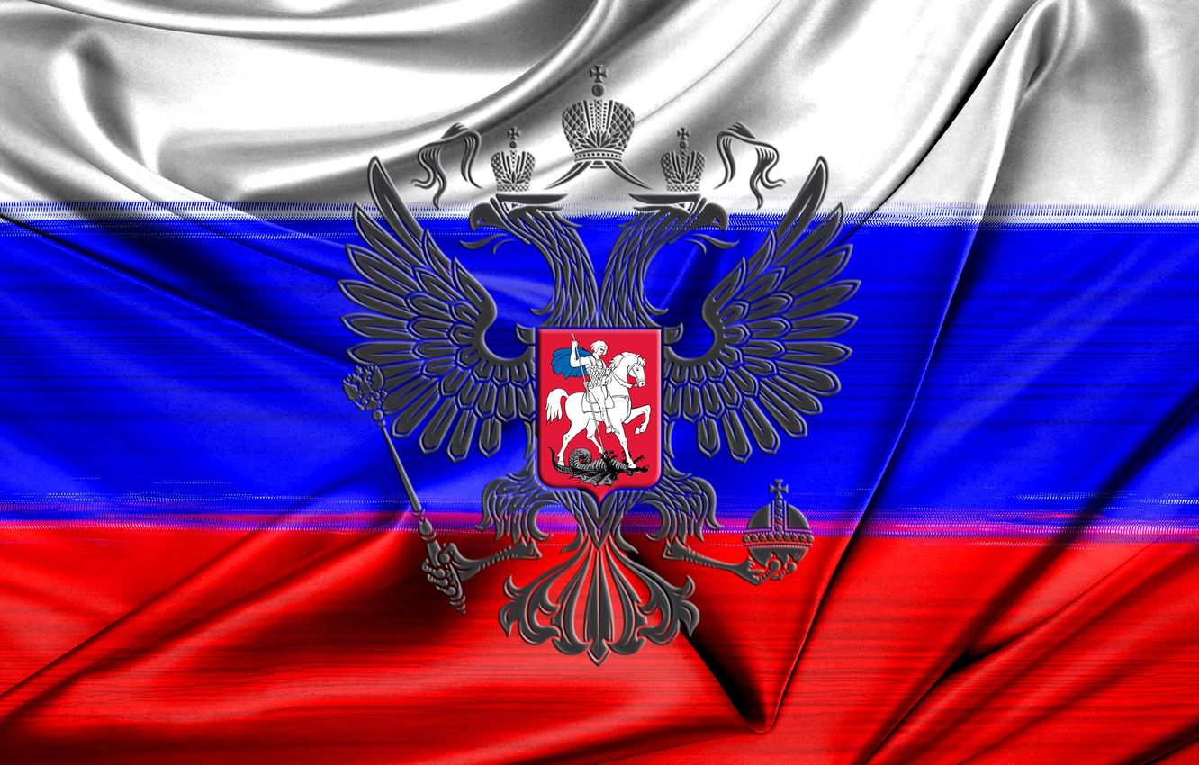 Photo wallpaper background, Tricolor, Russia, the flag of Russia