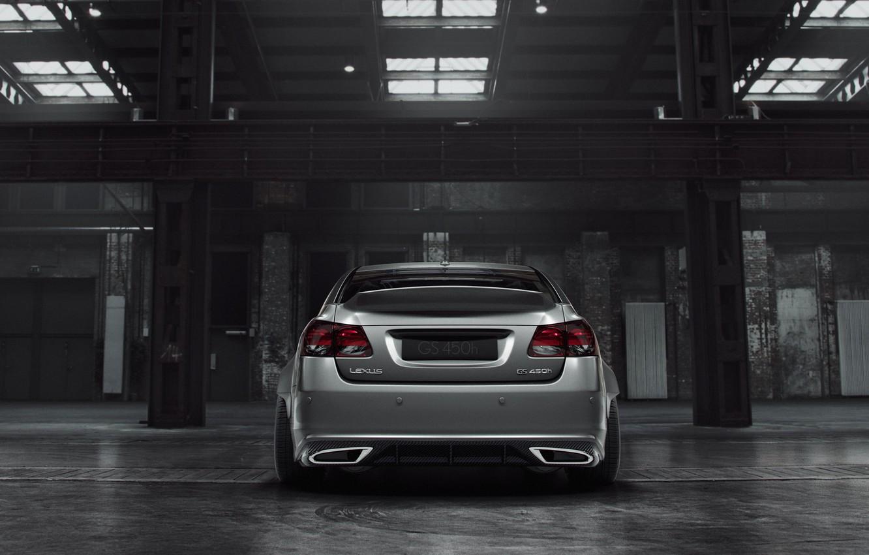 Photo wallpaper Auto, Lexus, Machine, Grey, Render, Silver, Lexus GS, Transport & Vehicles, by Stanislav Cheshuin, Stanislav …