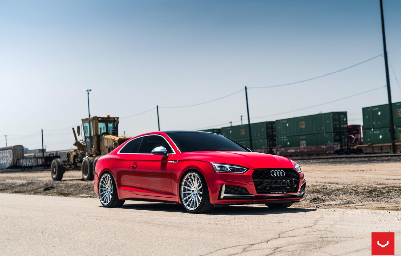 Photo wallpaper Audi, Hybrid, Forged, VFS-2