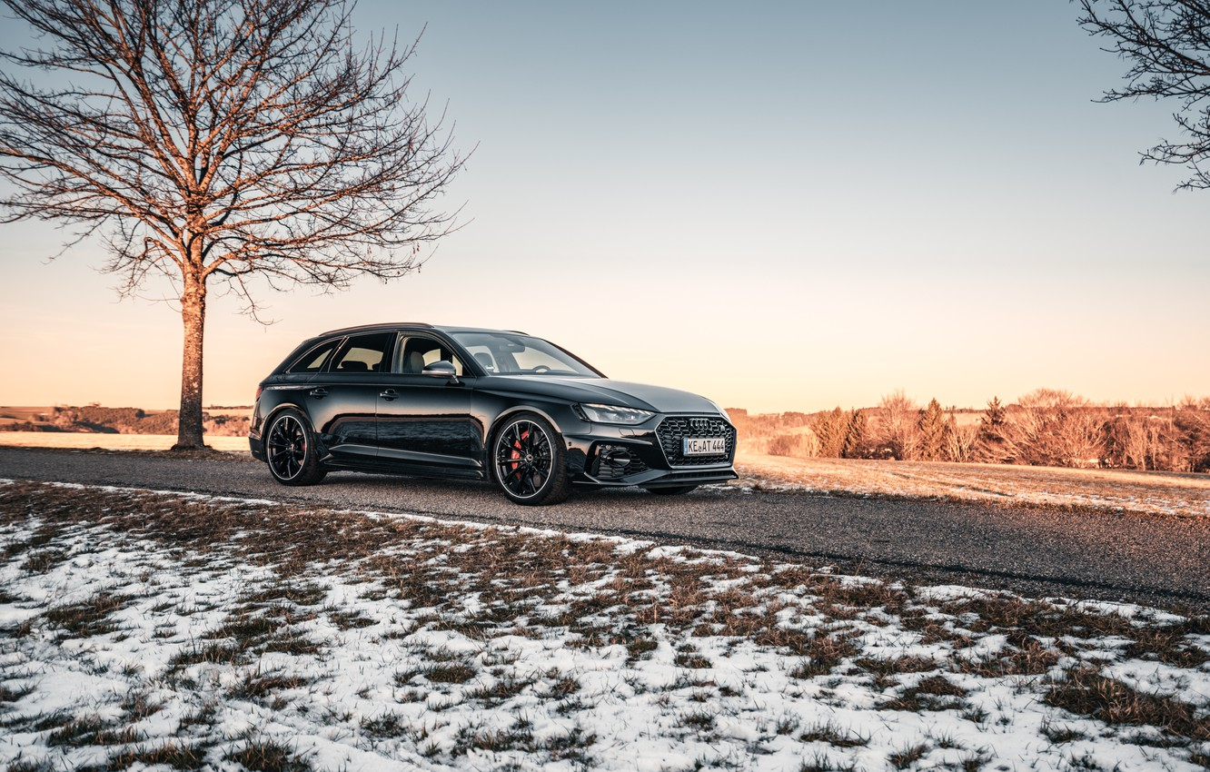 Photo wallpaper Audi, RS 4, ABBOT, RS4, Before, 2020
