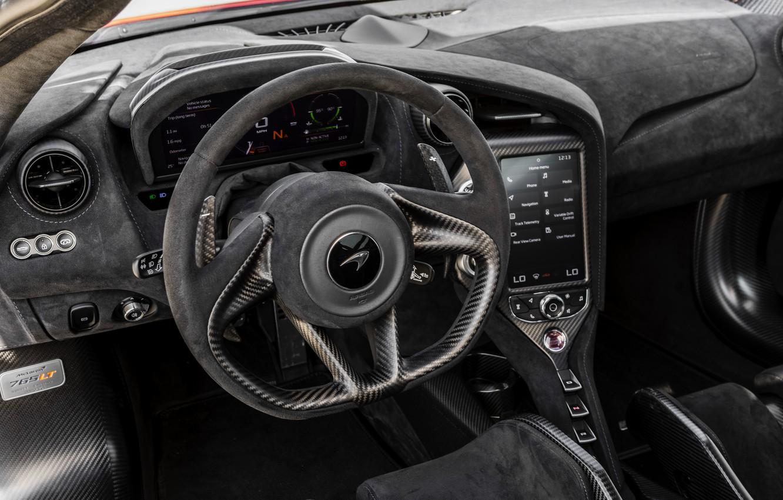 Photo wallpaper McLaren, the wheel, 2020, 765LT