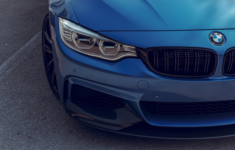 Photo wallpaper BMW, Blue, F82, Adaptive LED
